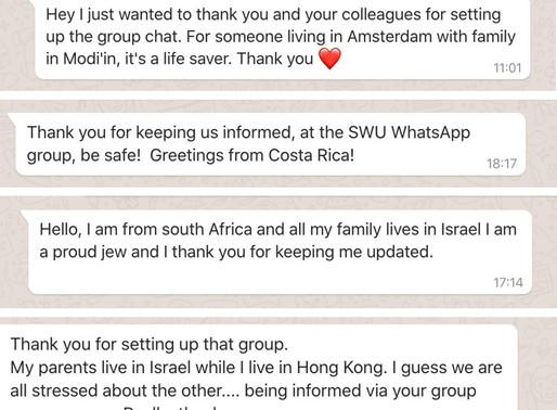 """""""החמ""""ל של """"StandWithUs"""" בחזית הדיגיטלית: מעדכנים מיליוני אנשים בעולם על מצב החירום בישראל"""