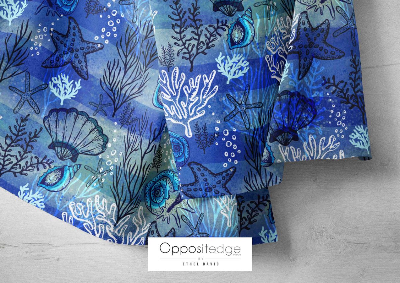 Seashells & Starfish-Blue 003.jpg