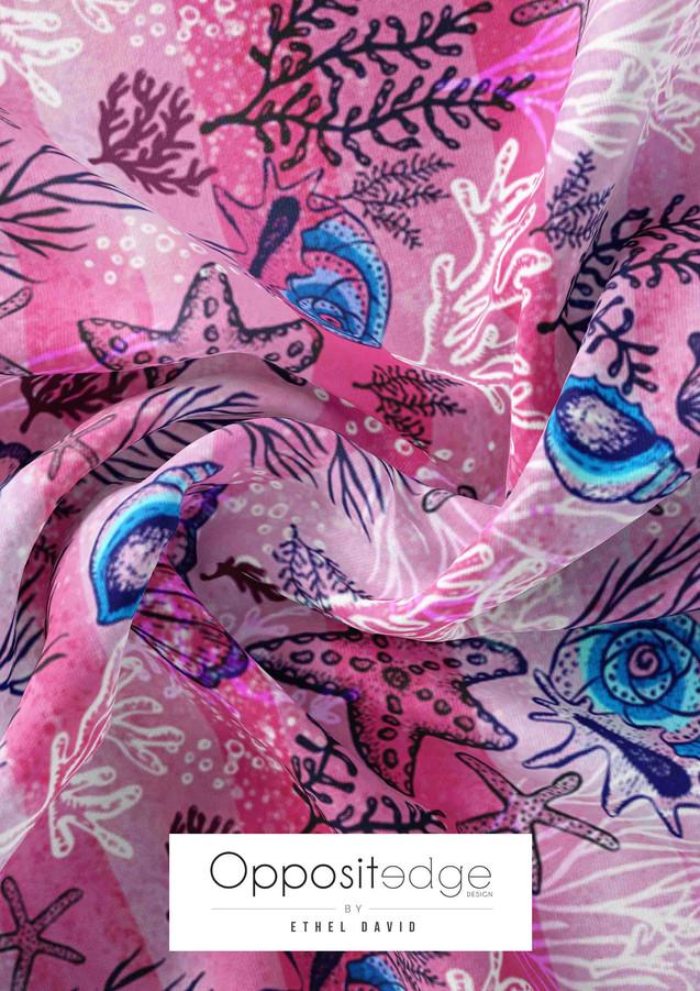 Seashells & Starfish-Pink 001.jpg