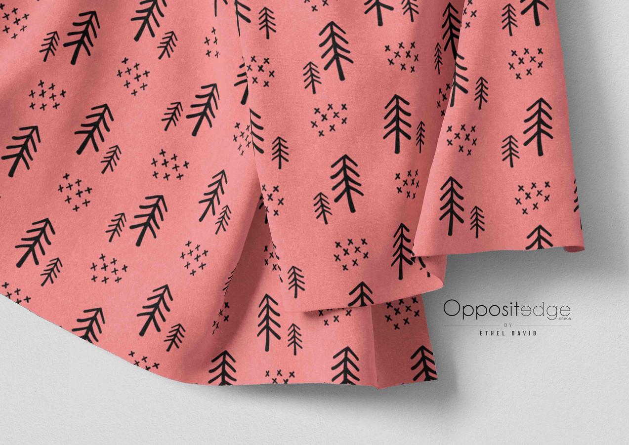 Woodland Trees - Girls Pink V2 01.jpg