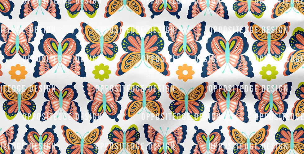 Happy Spring Butterflies - Commercial Use