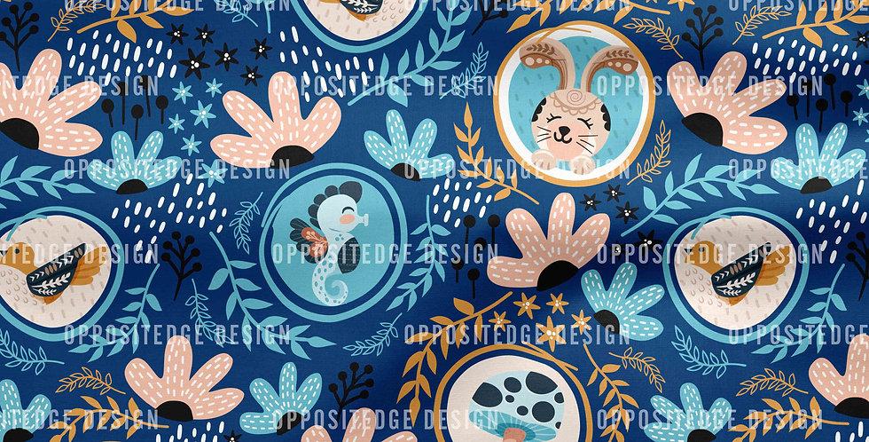 Whimsical Floral Wonderland - Commercial Use