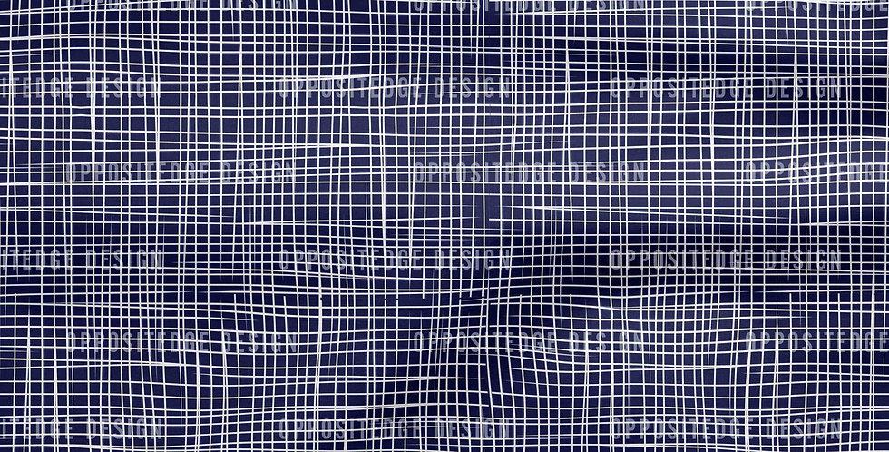 Blue Linen Lines - Commercial License