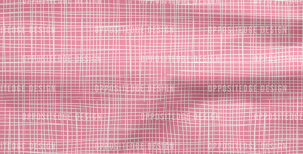 Pink Linen Lines - Commercial License
