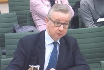 Gove offers reassurance over Resources Strategy funding