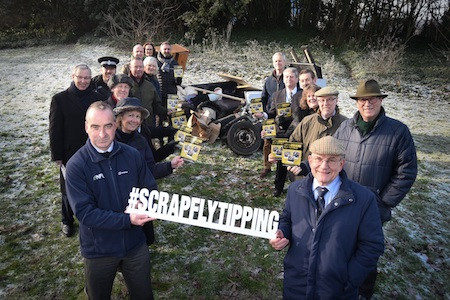 SCRAP fly-tipping campaign launched in Norfolk