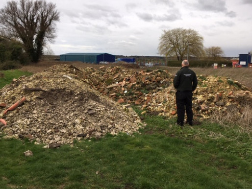 Agency carries out day of action at illegal waste sites