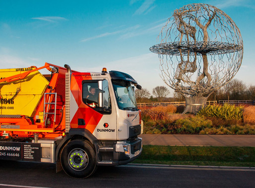 Introducing Dunmow Group's New Seriously Safe, Low Emission Skip Lorries