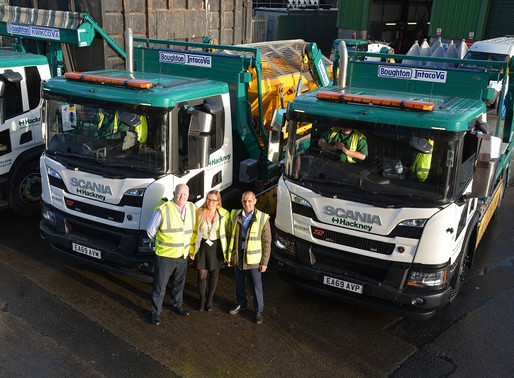 Hackney Upgrades Fleet with Boughton Hooks and Skips