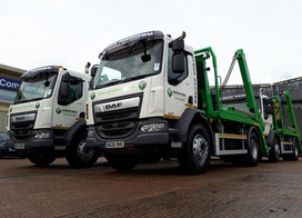 Four More DAF's Spring into Action for Green Box
