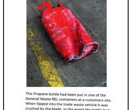 ISM launches campaign after propane cylinder incident