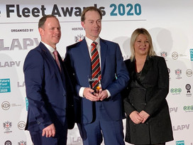 O'Donovan Driver Recognised at the Future Fleet Awards