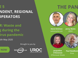 FREE WEBINAR: Waste and recycling during the coronavirus pandemic – Independent, regionals and SMEs
