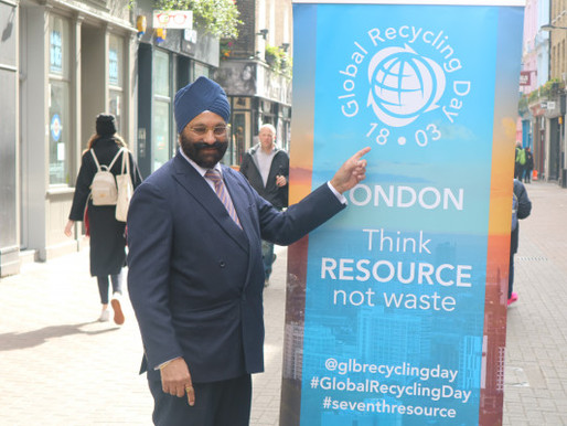 Organisers highlight Global Recycling Day success