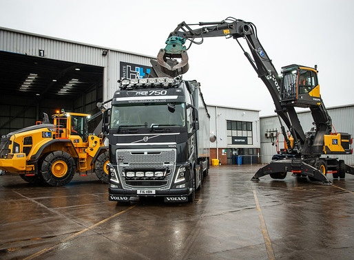 New Venture, New Volvos for H & H Waste Management
