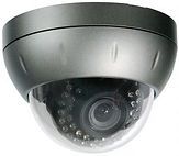 camera system, alarm, dome camera, cell phone