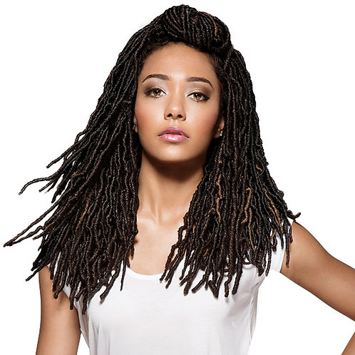 "NU Locs 18"" 2X African Roots Crochet Braid"