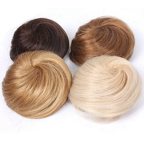 Human Hair Chignon Bunn