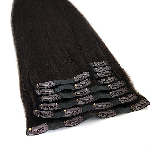 Seamless Clip-In Human Hair Extension