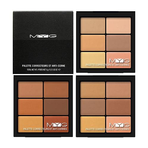 Medium Deep Color Concealer Highlighting Contour Foundation Palette