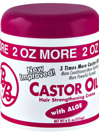 Castor Oil Hair & Scalp Conditioning Creme