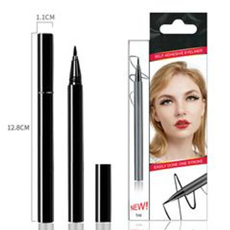 Black Liquid Self-Adhesive Eyelashes Eye Liner Pen