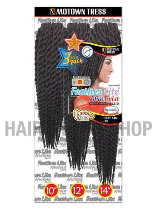 Motown Tress Crochet Feather Lite Afro Twist Braid