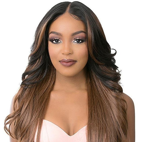 It's a Wig 5G True HD Transparent Swiss 13X6 Lace Front Wig T Lace Young