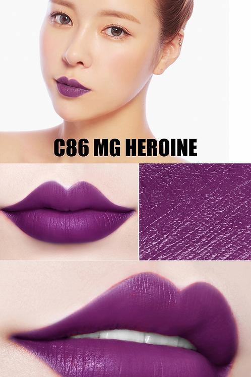 C86 MG Heroine Matte Romantic Color Lipstick