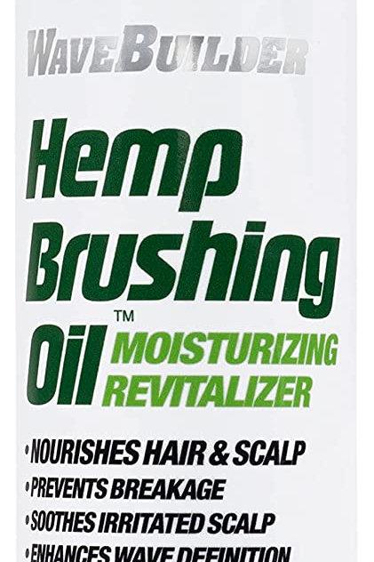 Hemp Brushing Oil Moisturizing Revitalizer