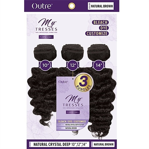 Outre MyTresses Purple Label 100% Unprocessed Human Hair