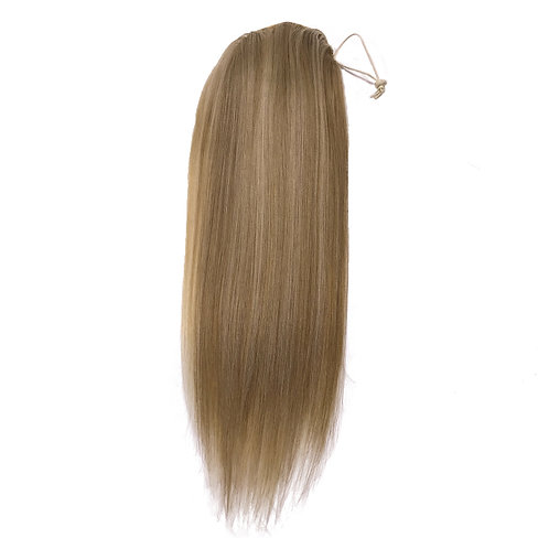100% Human Hair Draw String Ponytail for Cheerleaders