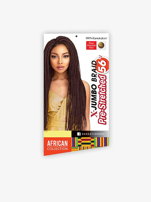African Collection X – Jumbo Pre-Stretched Braid