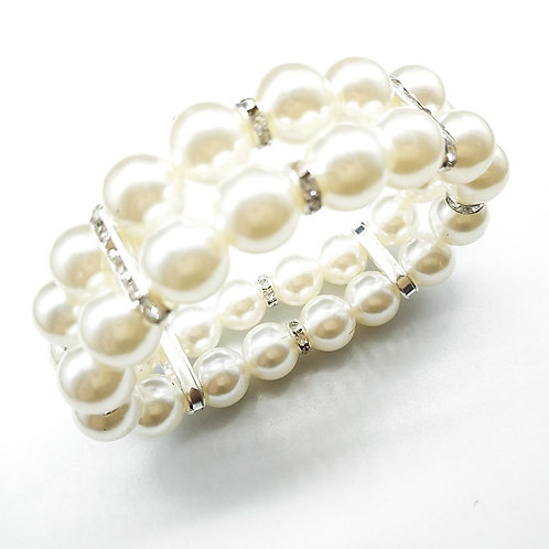 Multi-Layer Pearl Bracelet