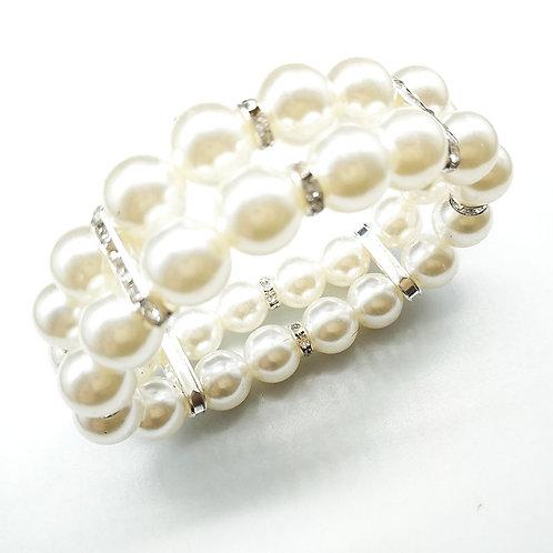 Multi-Layer Pearl Bracelet