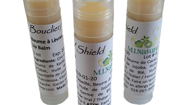 Shield - 5 ml Antibacterial & Repairing Lip Balm for Chapped Lips