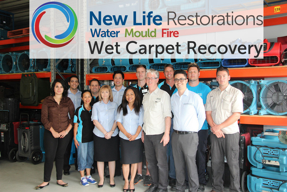 New Life Restorations, our 2018 Men's Naming Right Sponsor.