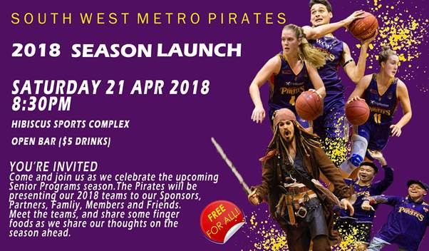 Join us Saturday 21 April for our Official Season Launch