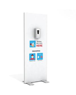 "Hand Sanitizer Dispenser - Basic Edition - 29""x78"""