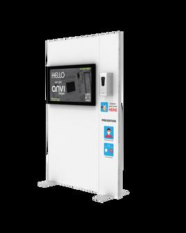 "Hand Sanitizer Dispenser - TV Edition - 52""x78"""