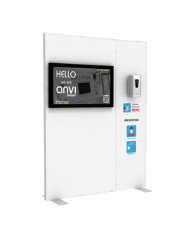 "Hand Sanitizer Dispenser - TV Edition - 58""x78"""