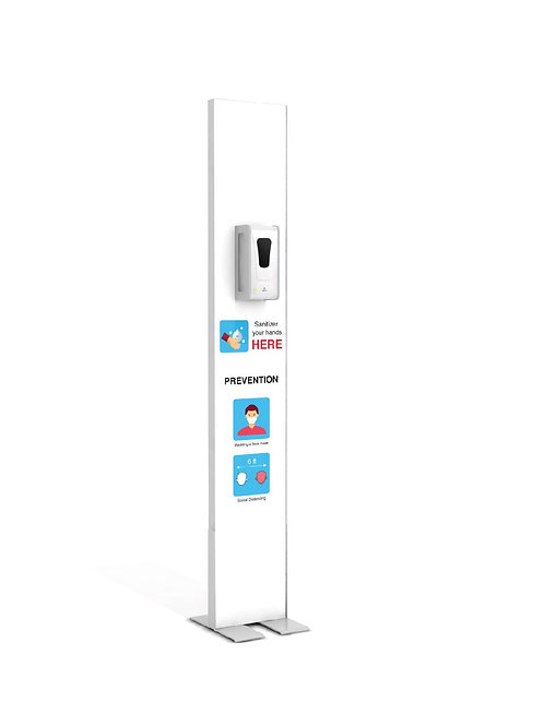 "Hand Sanitizer Dispenser - Basic Edition - 12""x78"""