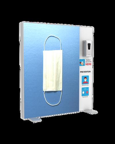 """Hand Sanitizer Dispenser - Backlit Edition - 52""""x58"""""""