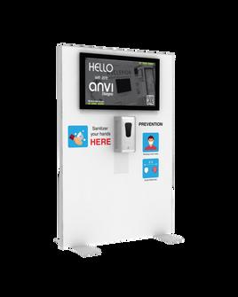 "Hand Sanitizer Dispenser - TV Edition - 39""x58"""