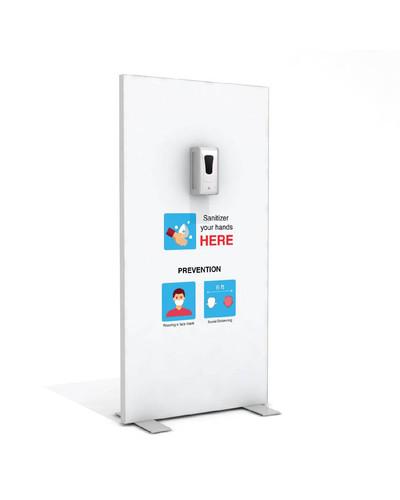 "Hand Sanitizer Dispenser - Basic Edition - 39""x78"""