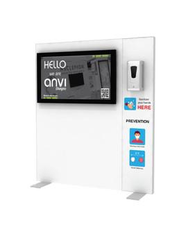 "Hand Sanitizer Dispenser - TV Edition - 52""x58"""