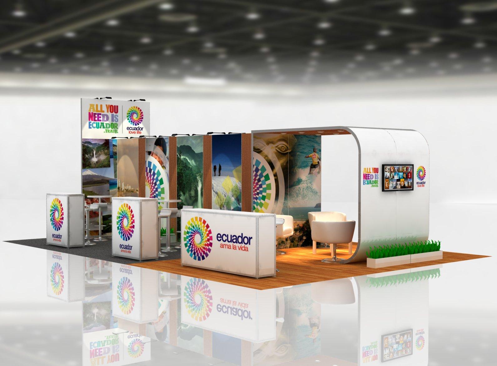 Trade Show Exhibits Anvi 20x50