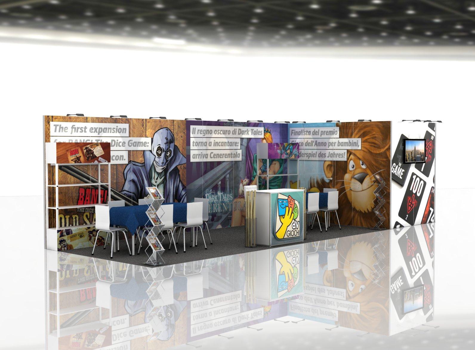 Trade Show Exhibits Anvi 10x30