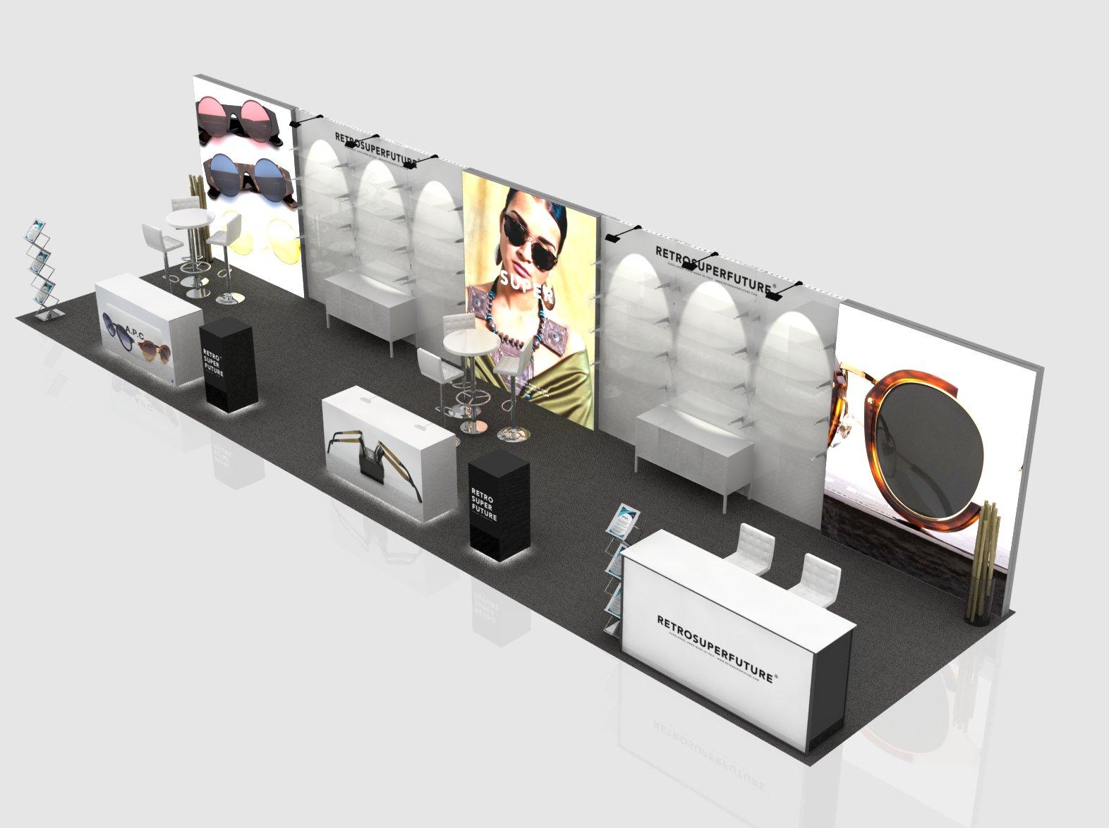 Trade Show Exhibits Anvi 10x40