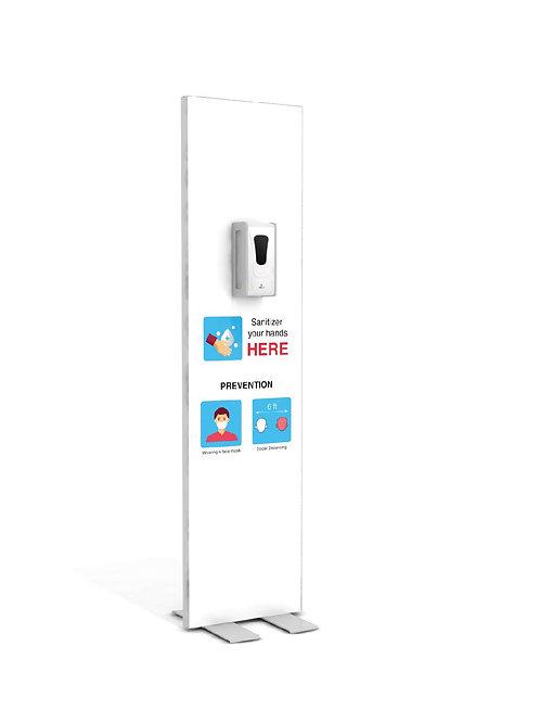 "Hand Sanitizer Dispenser - Basic Edition - 19""x78"""